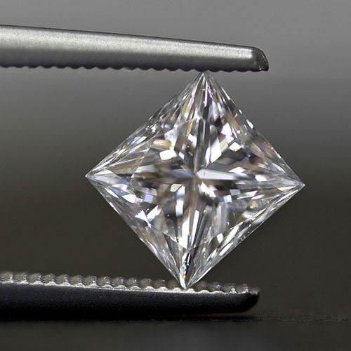 Loose cushion diamond cut from Jack Lewis Jewelers in Bloomington, Illinois