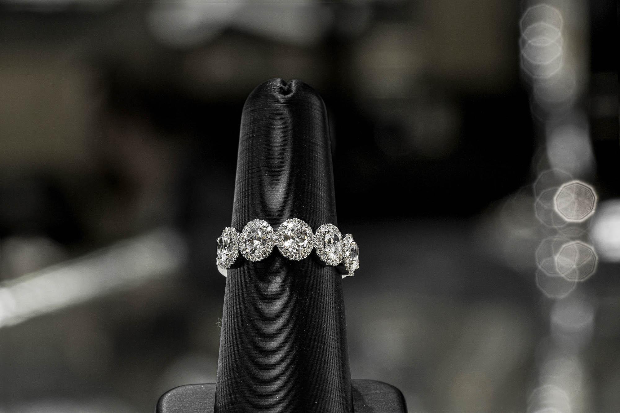 diamond wedding band from Forevermark
