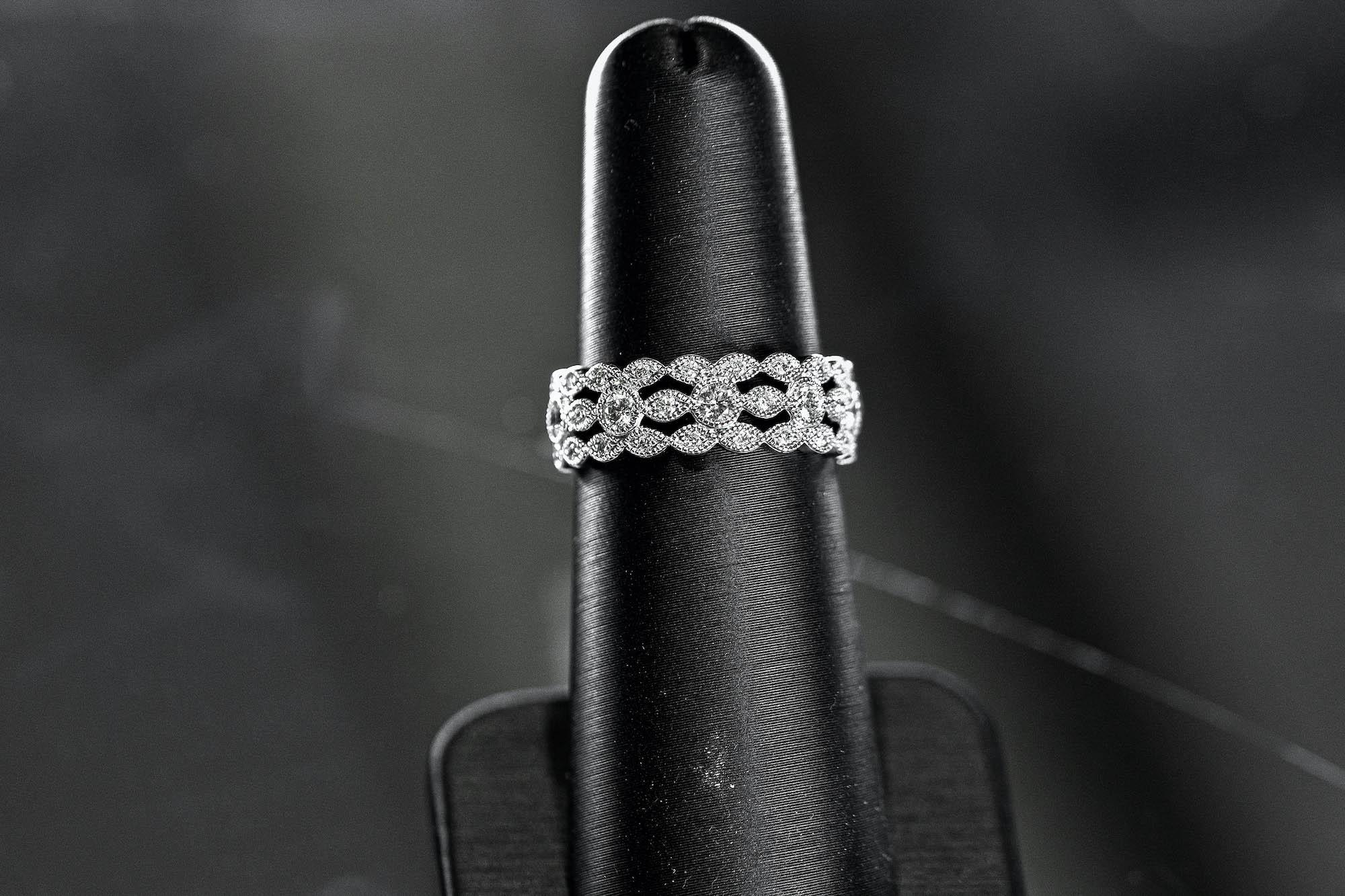 diamond wedding band from Fana