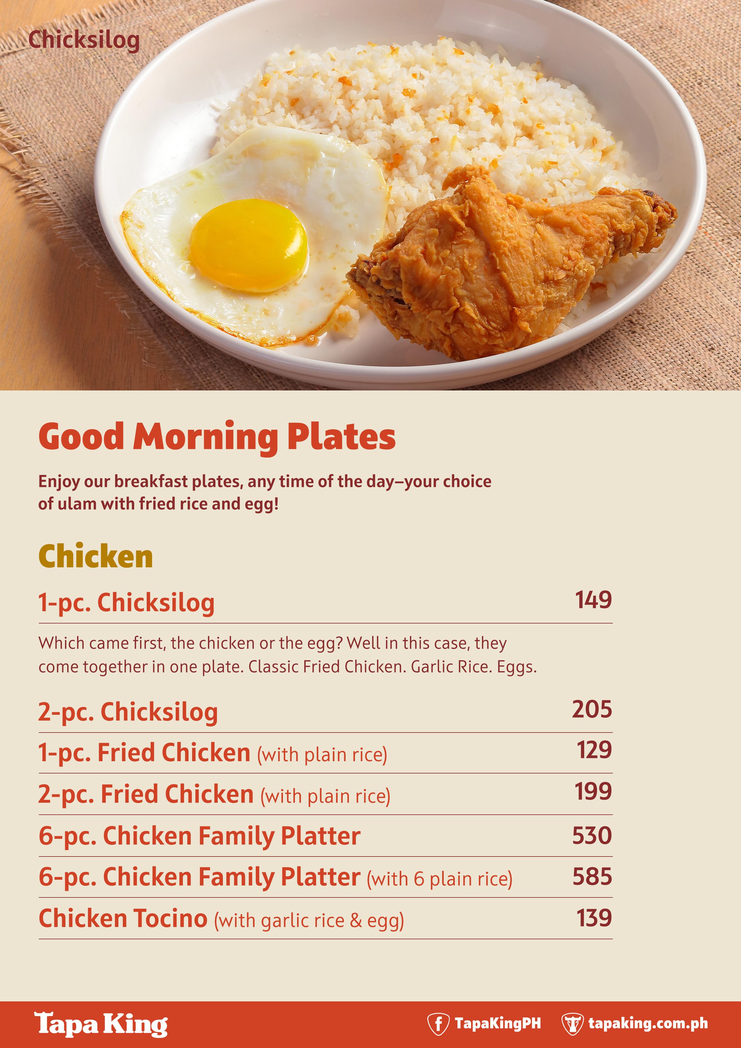 Good Morning Plates