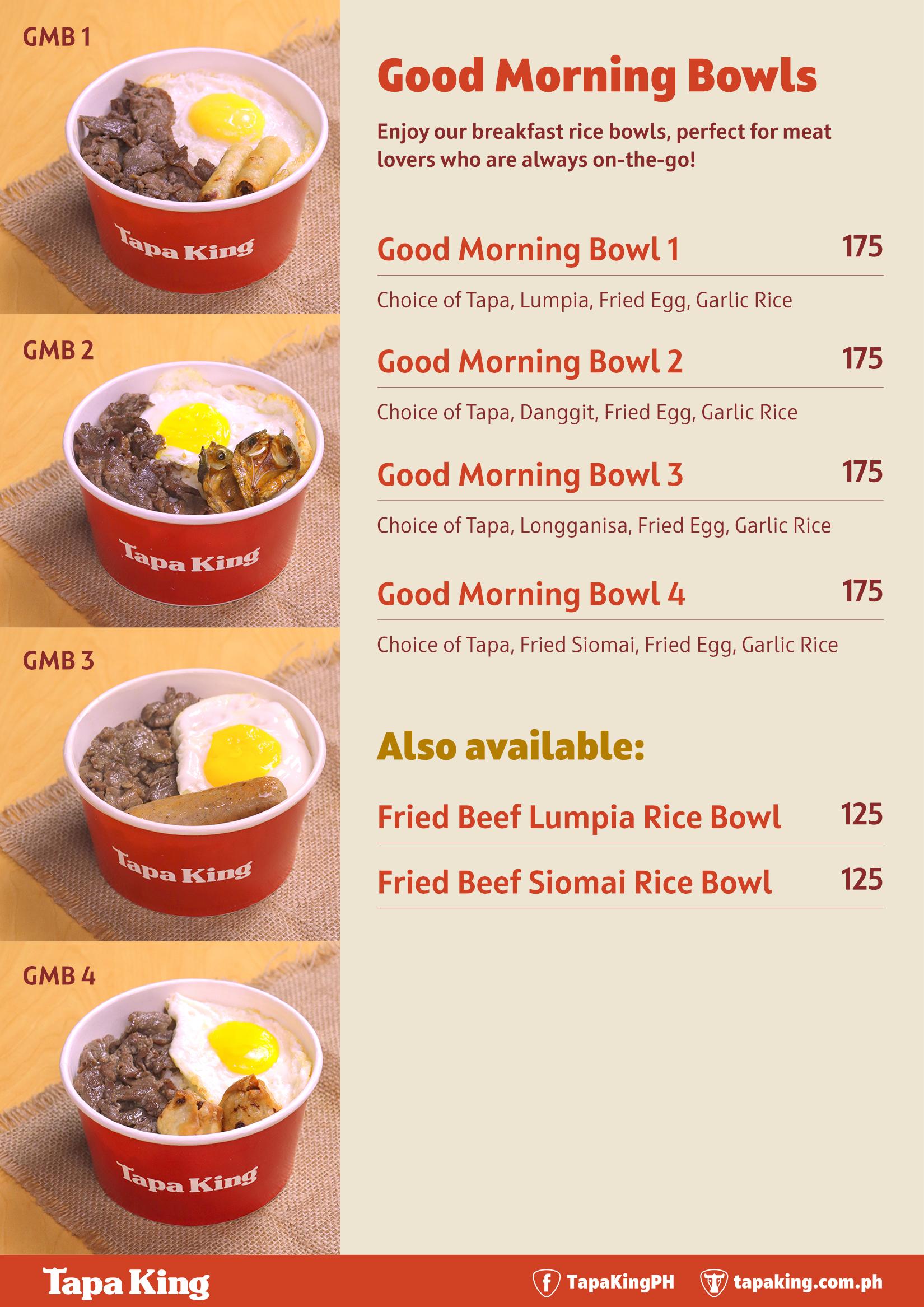 Good Morning Bowls