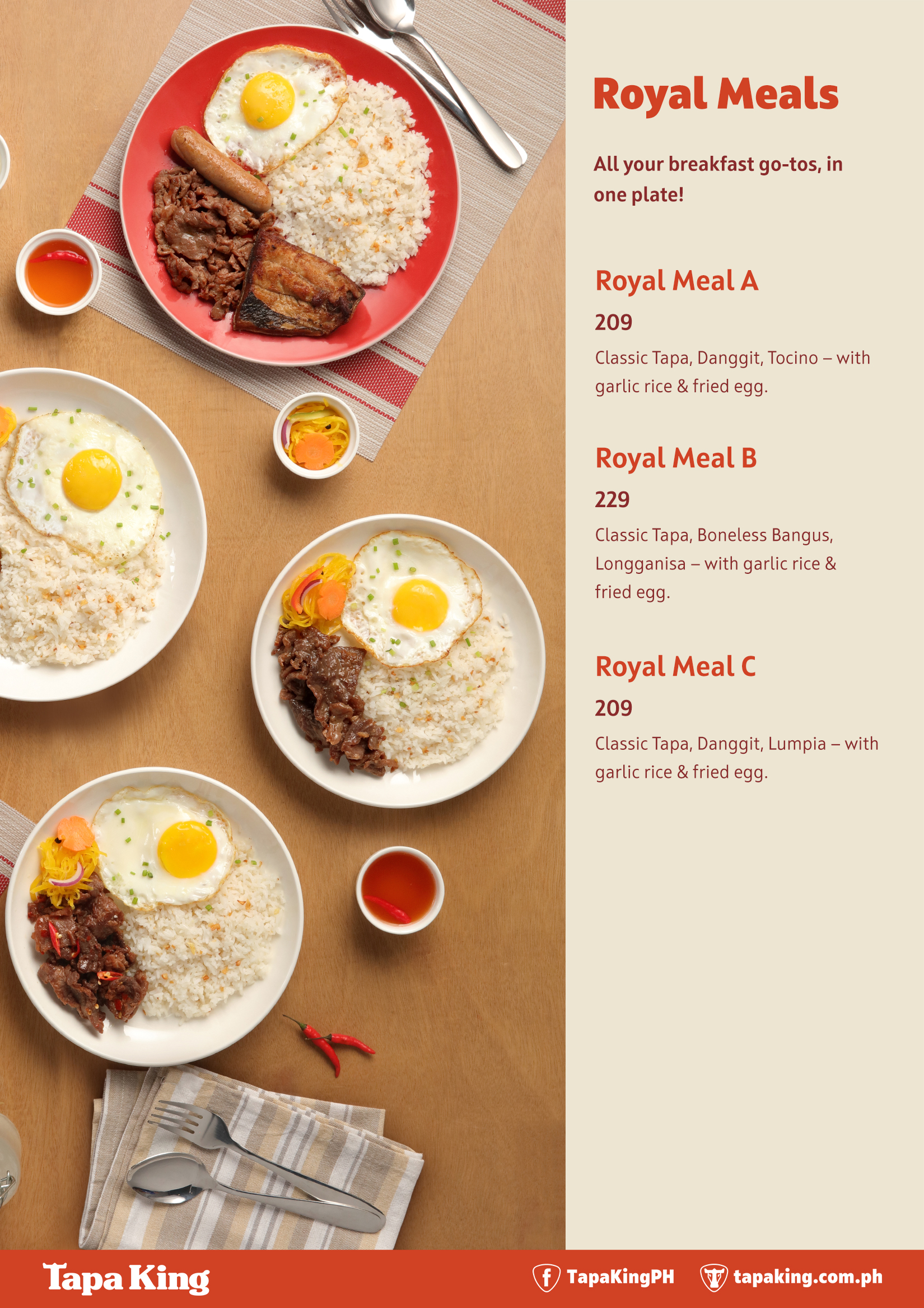 Royal Meals