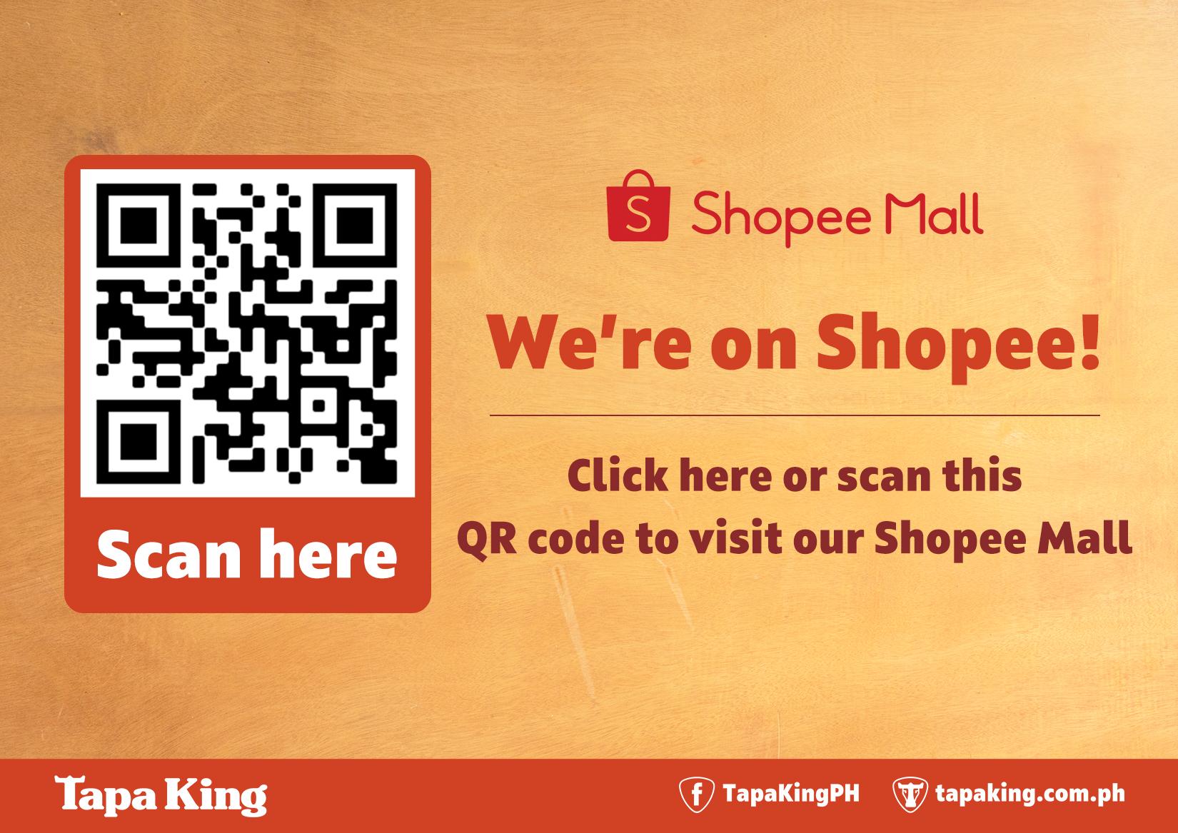 Tapa King on Shopee