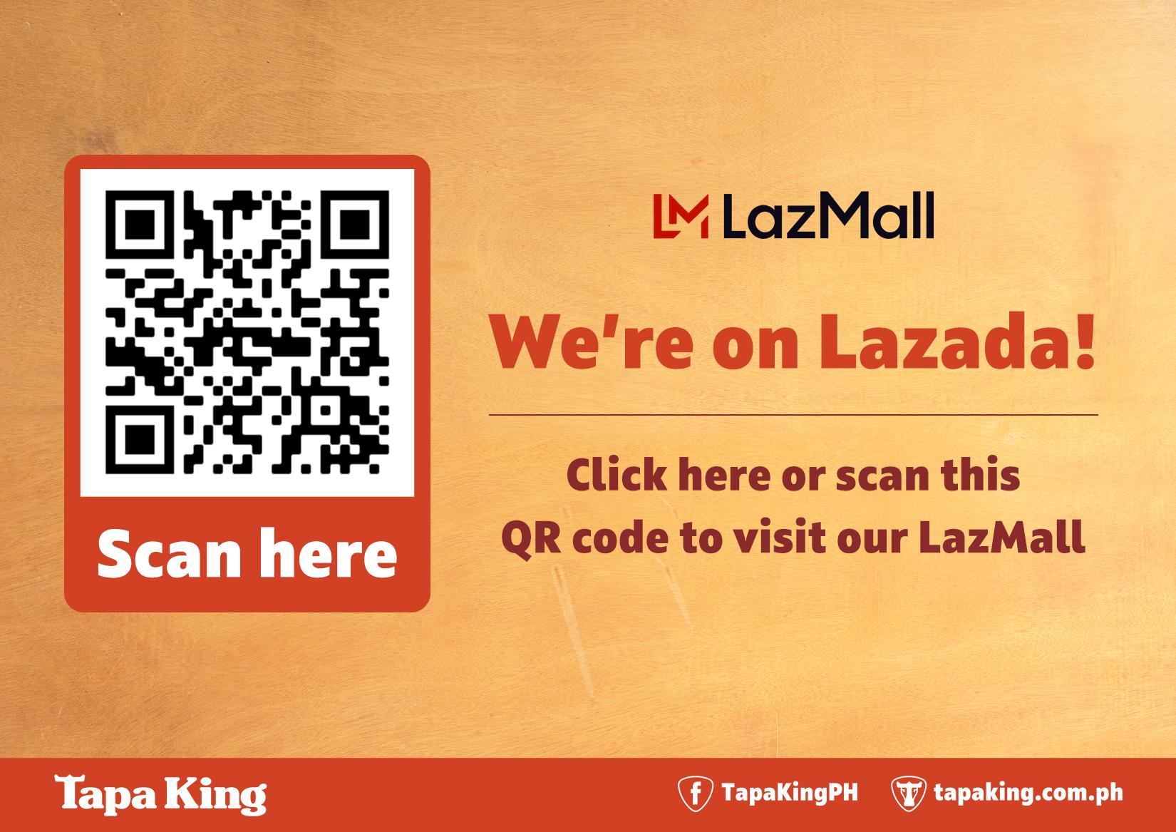 Tapa King on Lazada