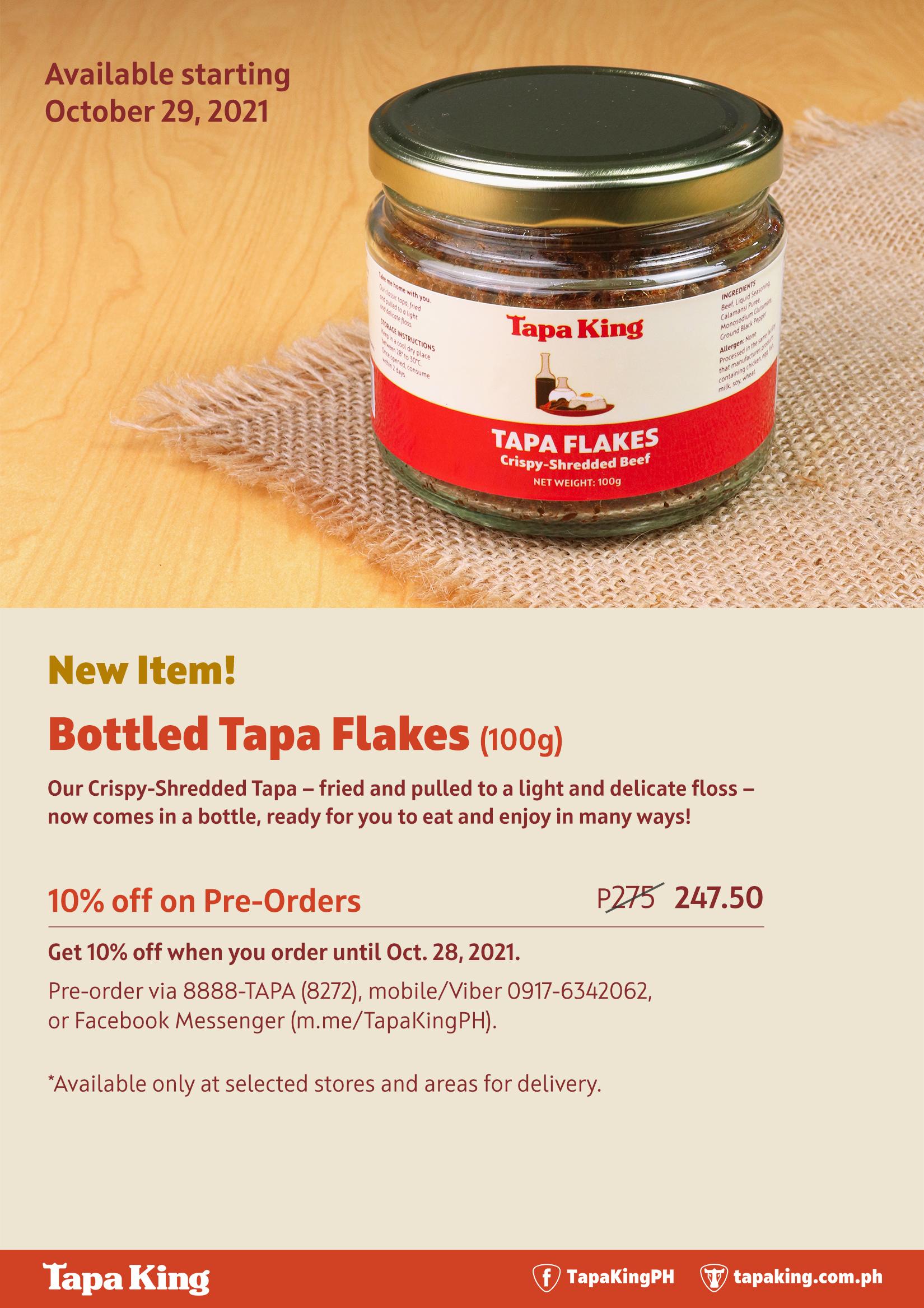 Tapa King - Bottled Tapa Flakes