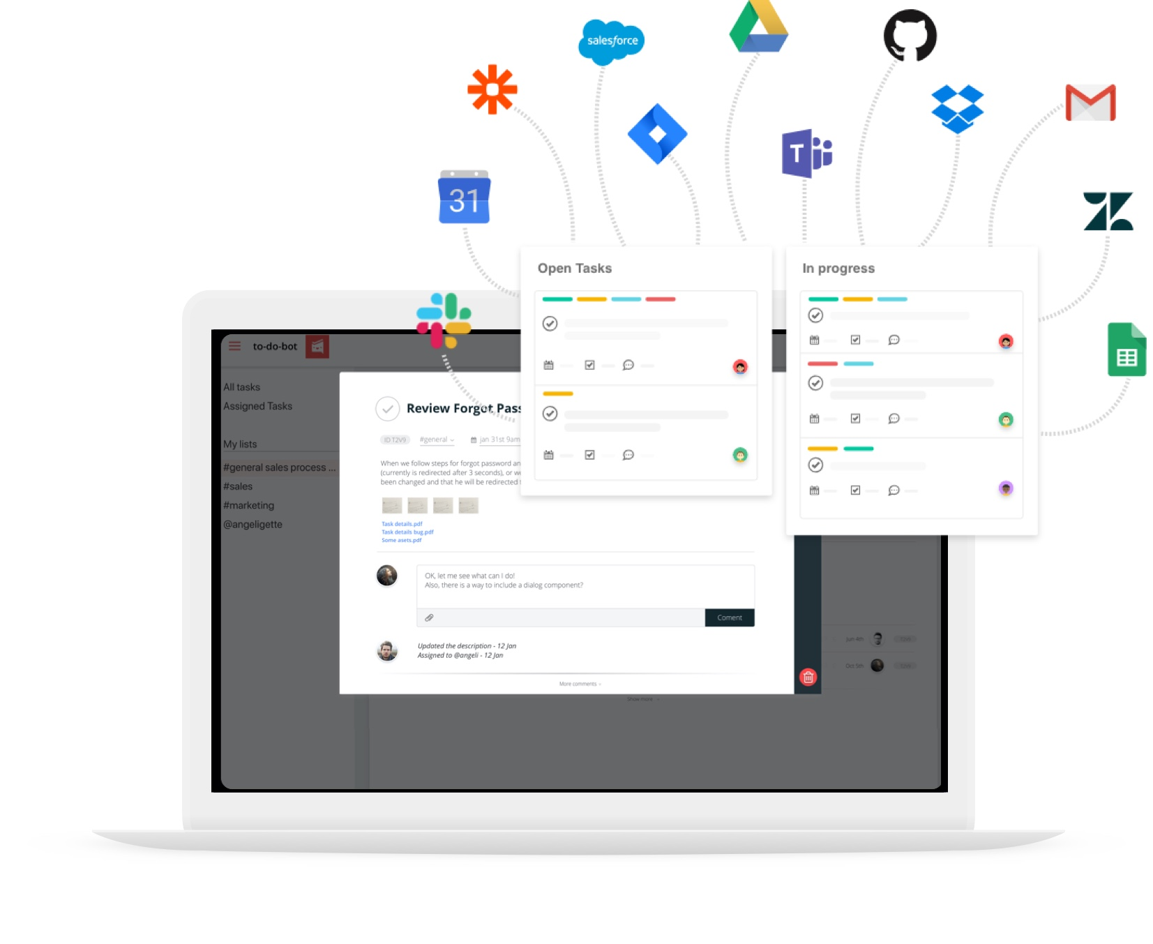 to-do-lists integrate with Slack