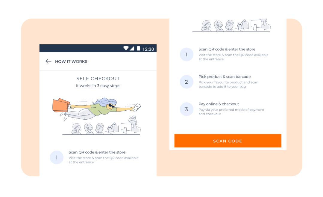 retail & ecommerce website design