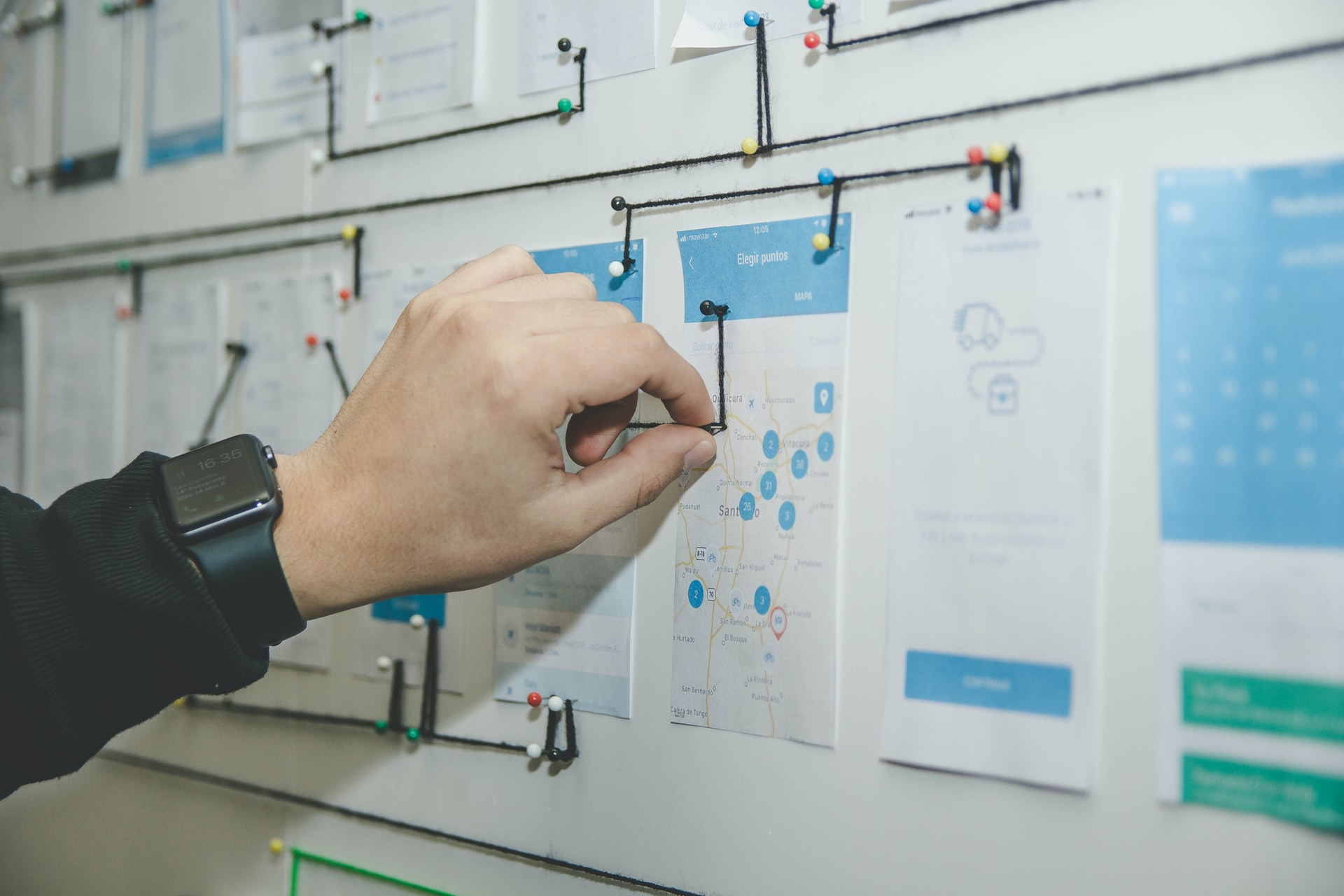 How to manage a design project? Learn from a first timer