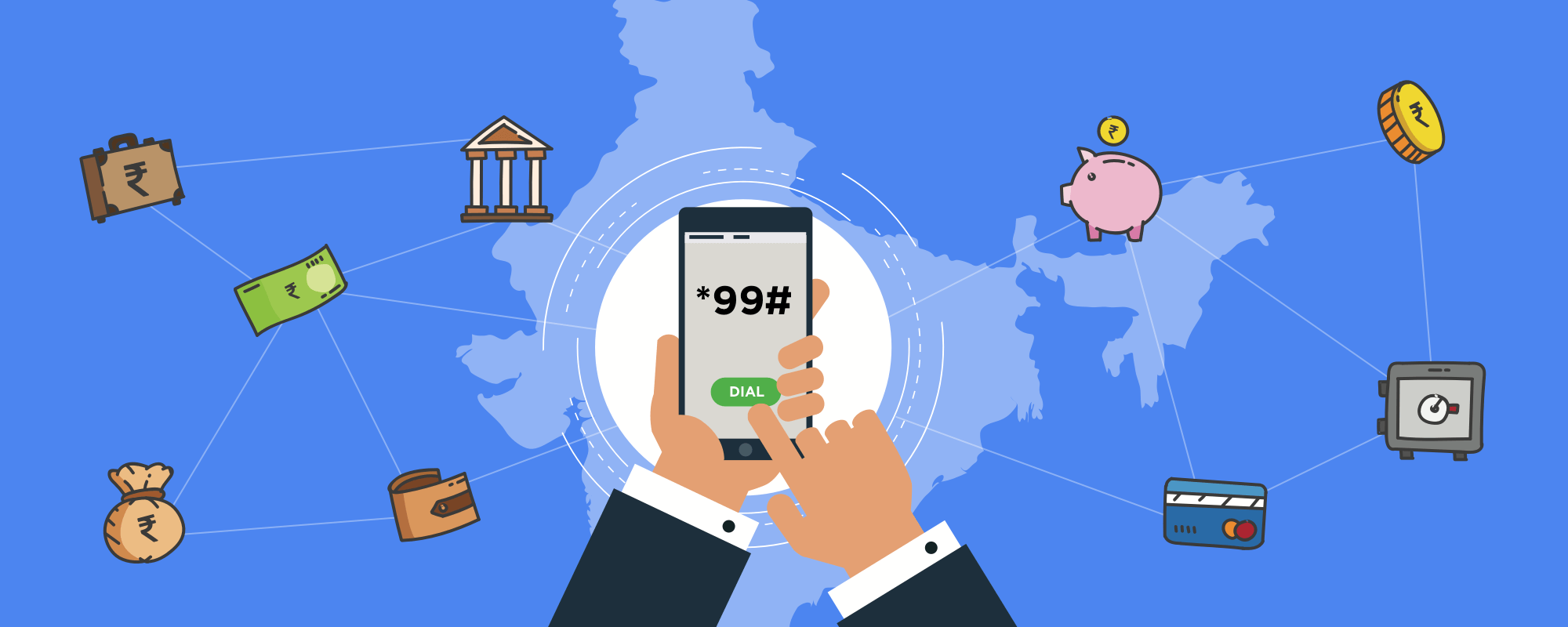 *99# - Digital banking for everyone in INDIA