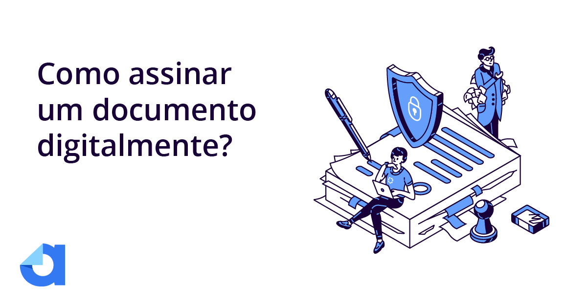 assinar documentos digitalmente