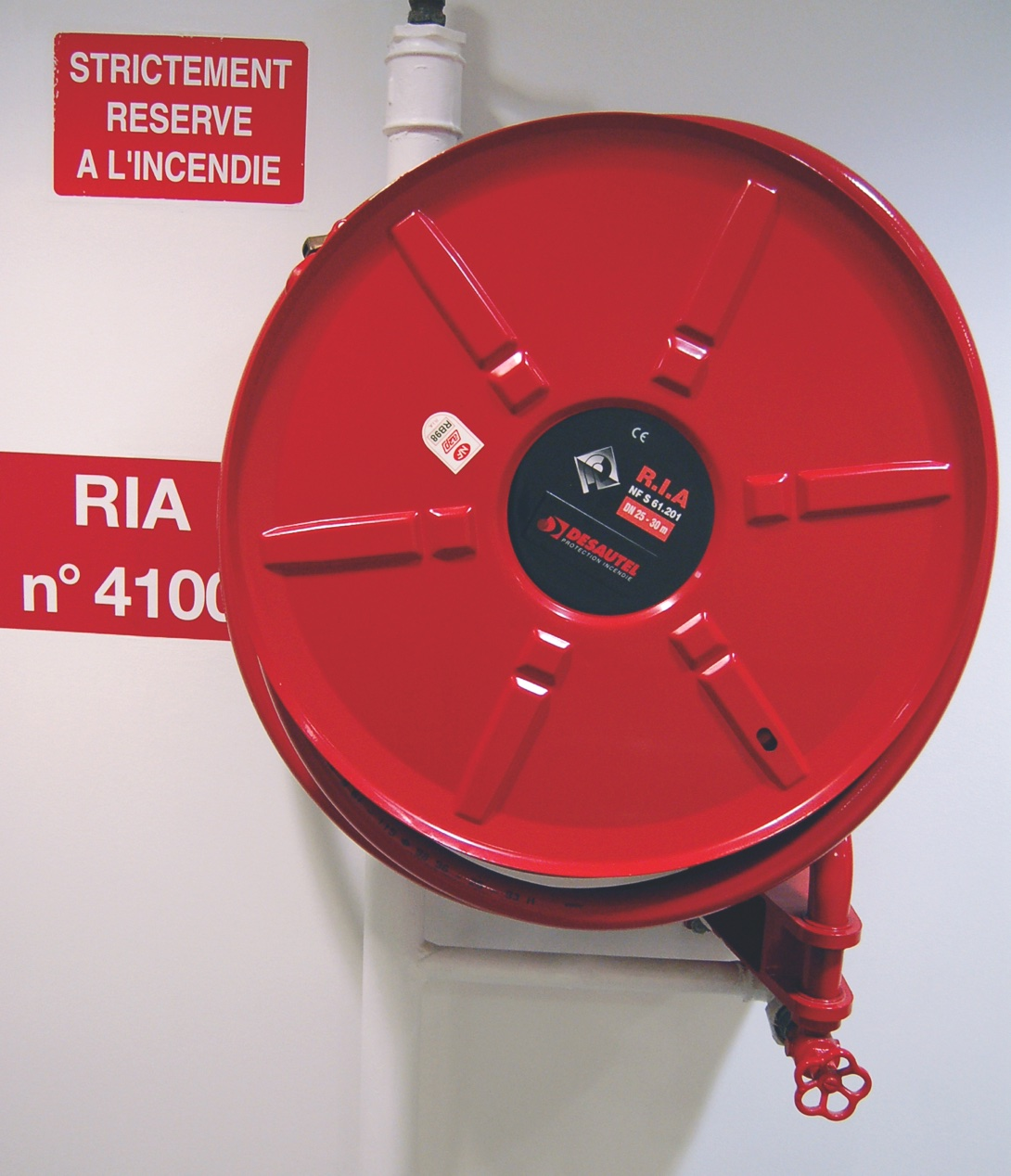 Robinet d'incendie armé (RIA)