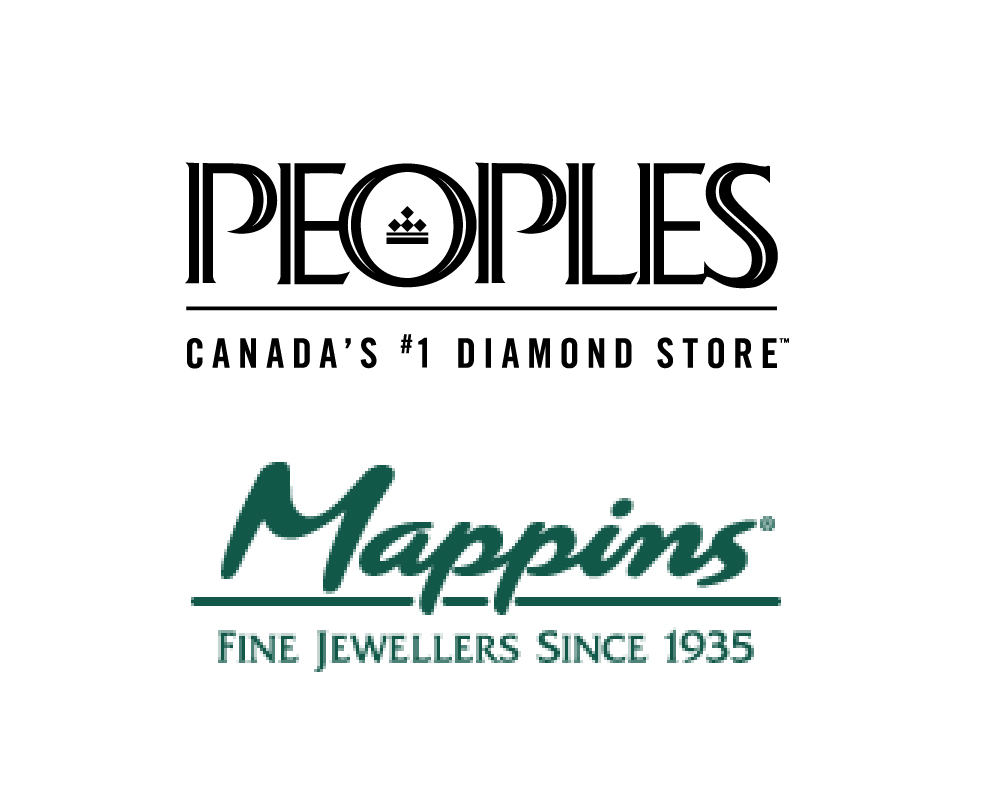 People's Jewellers and Mappins logos