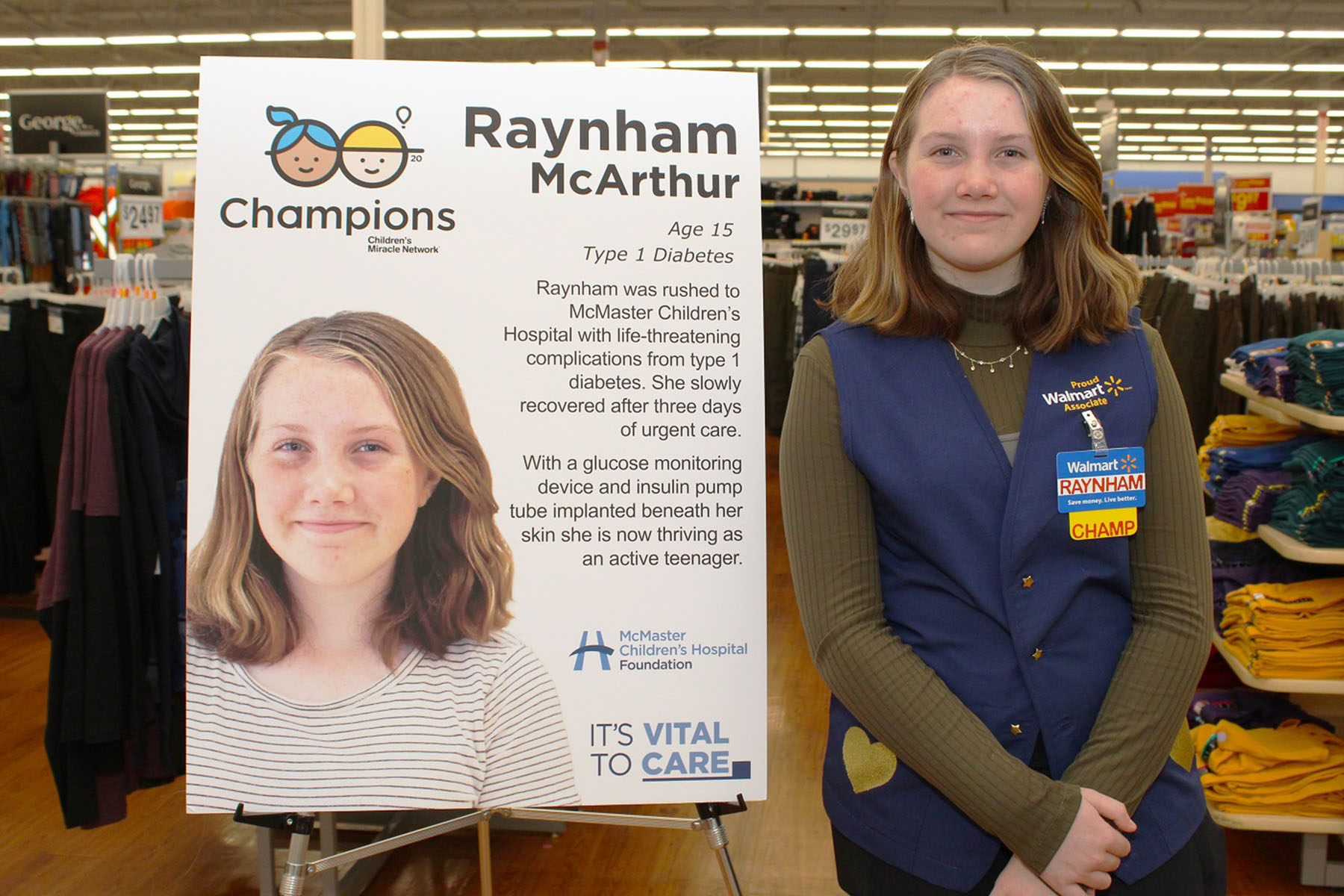 Raynham at the Champions launch event
