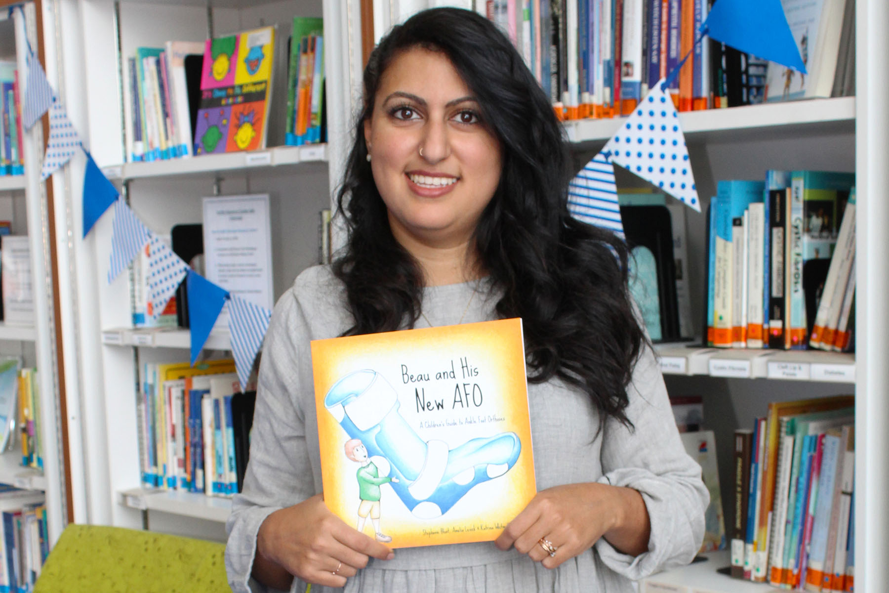 Author Stephanie Blunt with her children's book