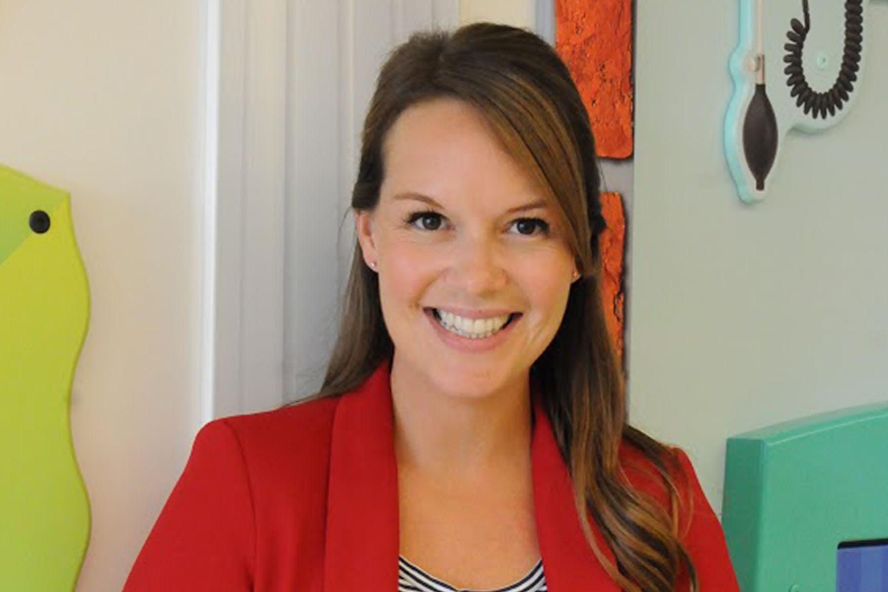 Child Life Specialist Heather McKean