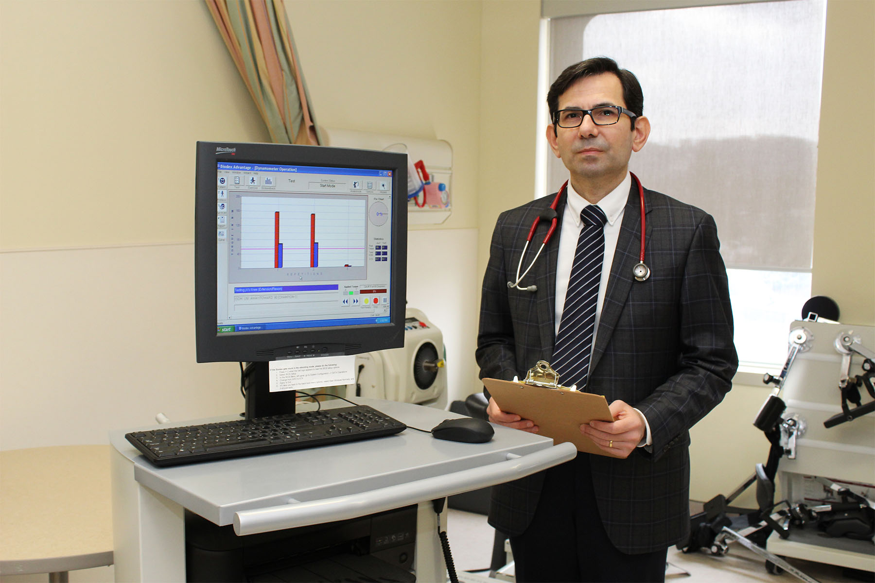 Dr. Samaan, a pediatric endocrinologist at McMaster Children's Hospital