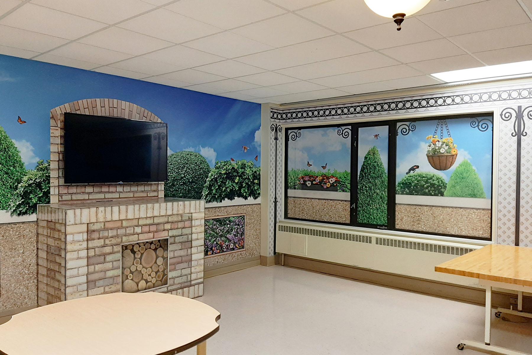 Behavioural Health Program multipurpose room