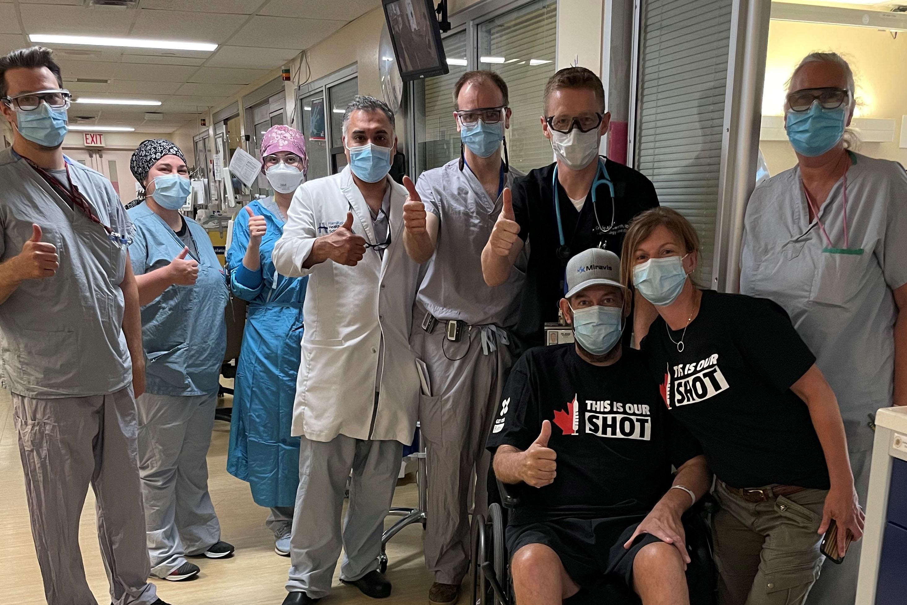 Mike VanNetten in hospital
