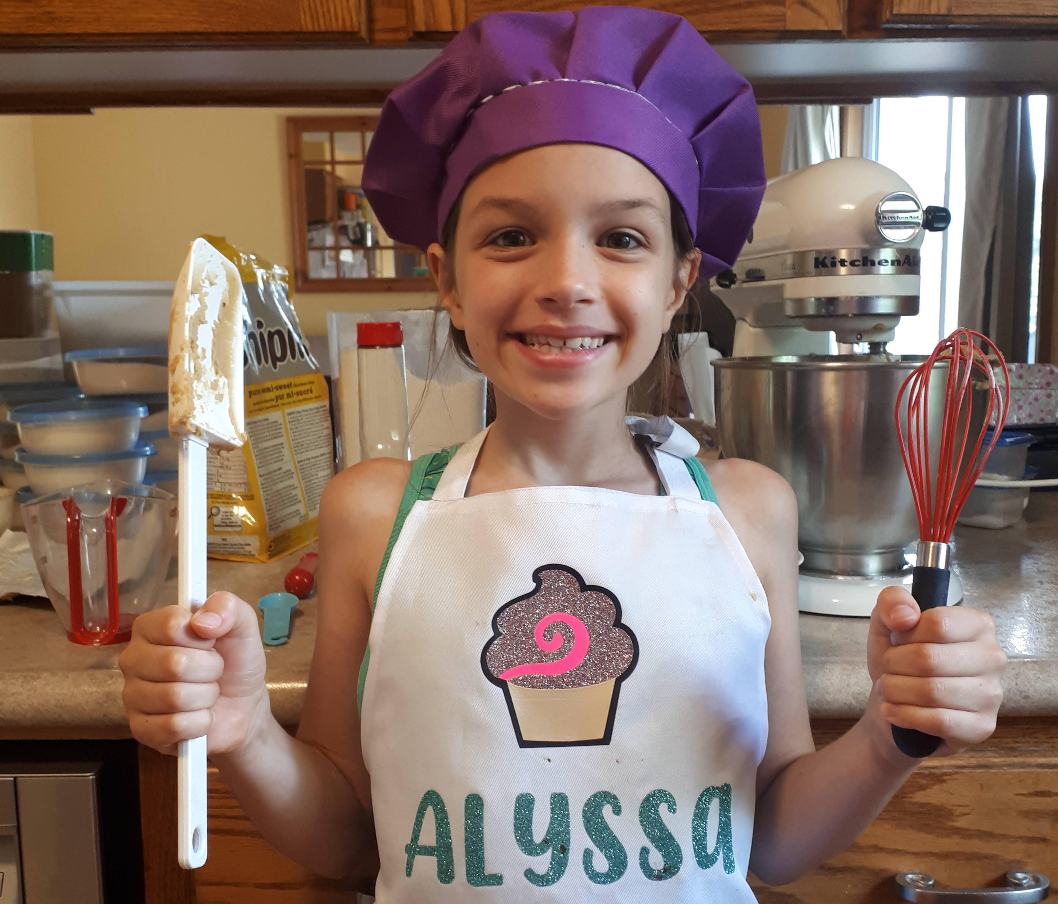 Alyssa Lodge in kitchen