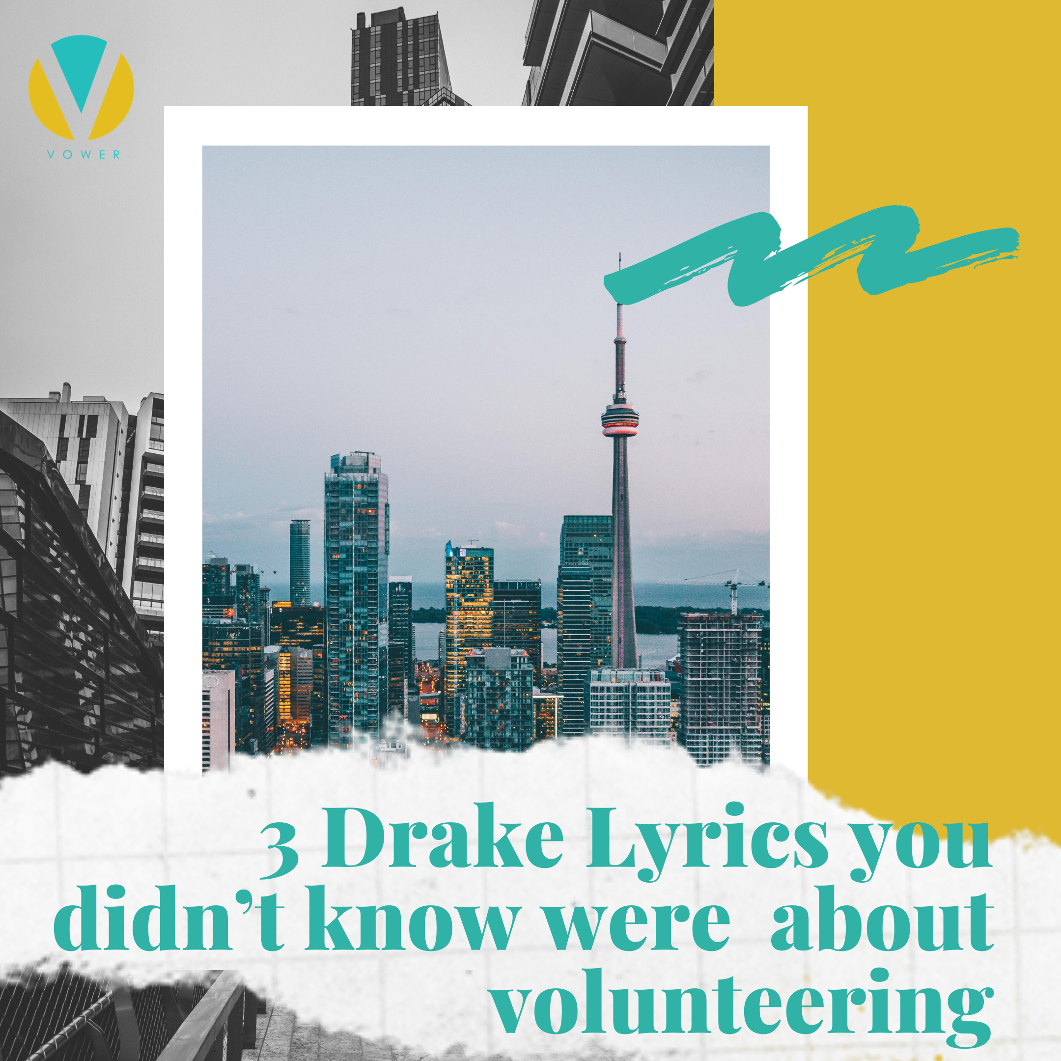 3 lyrics from Drake you didn't know were actually about volunteering