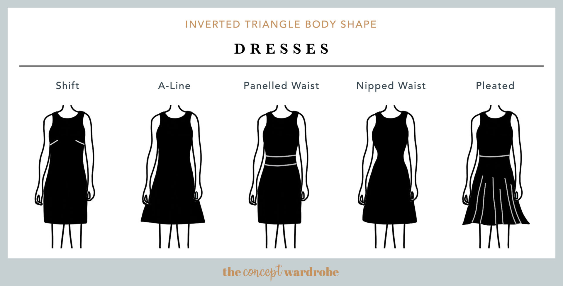 Inverted Triangle Body Shape  the concept wardrobe