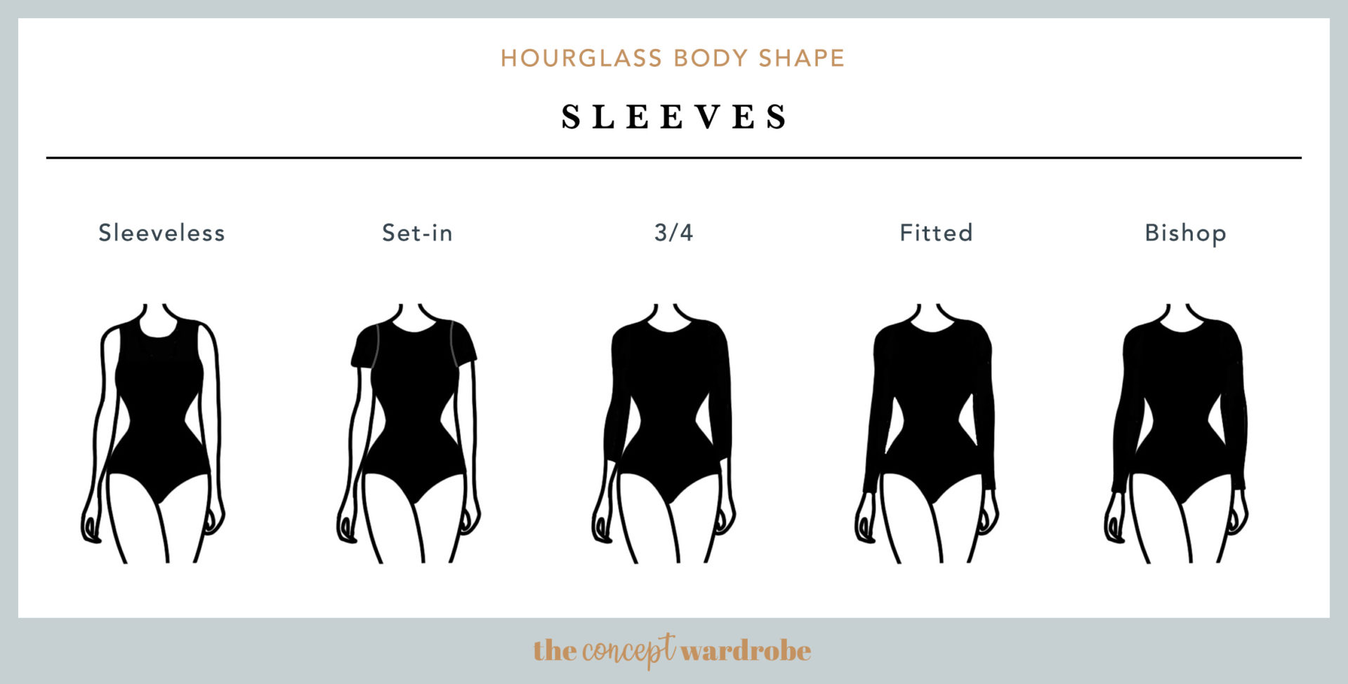 Hourglass Body Shape Sleeves - the concept wardrobe