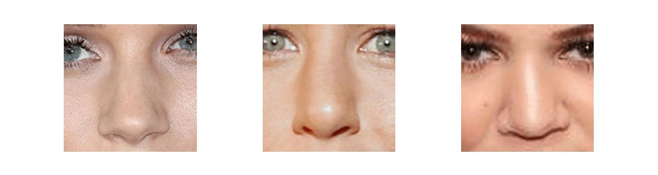 Kibbe Body Types - Noses B - the concept wardrobe