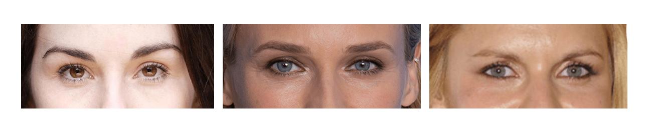 Kibbe Body Types - Eyes A - the concept wardrobe