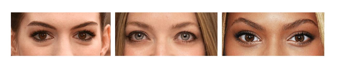 Kibbe Body Types - Eyes E - the concept wardrobe