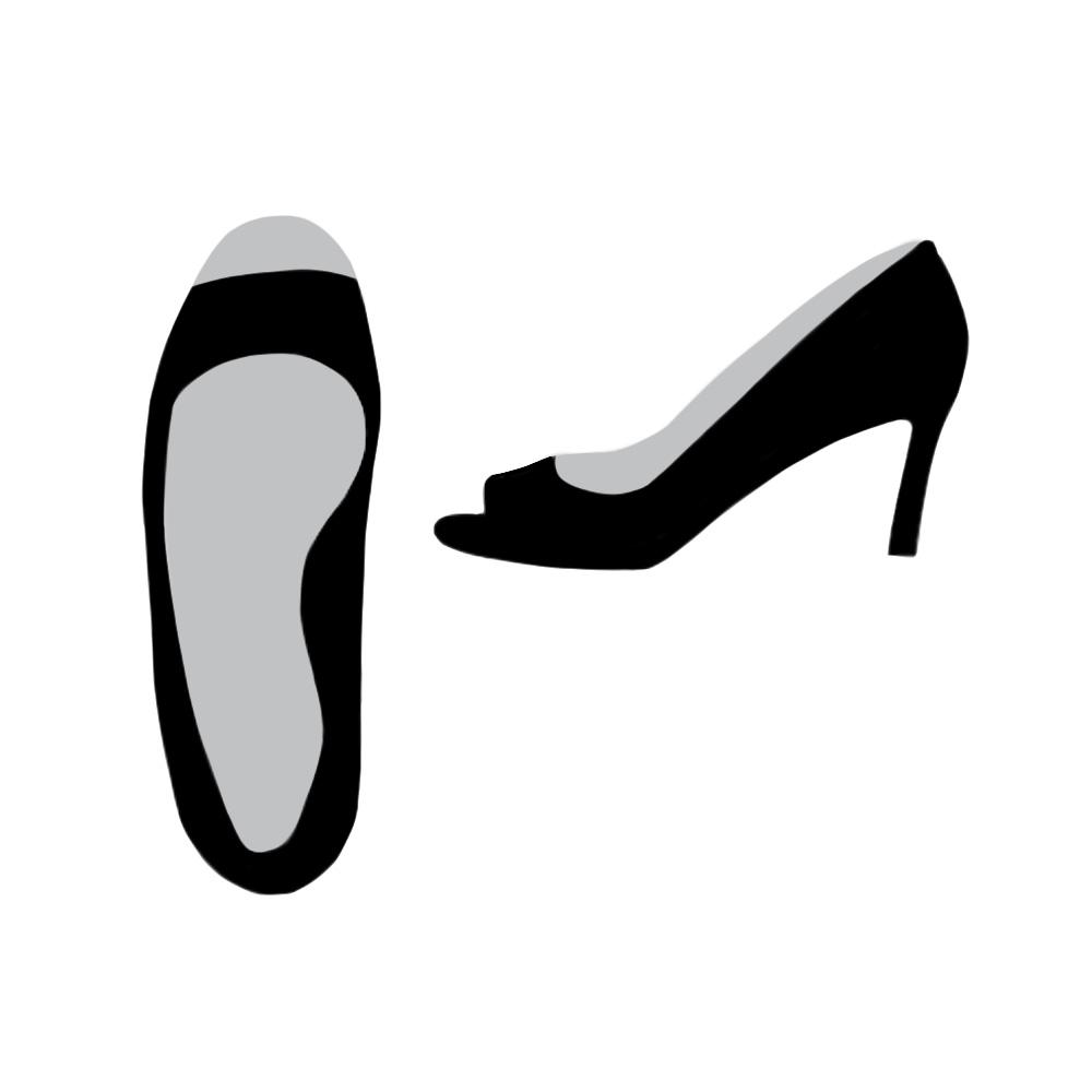 Peep Toe Open Toe Shoe - the concept wardrobe