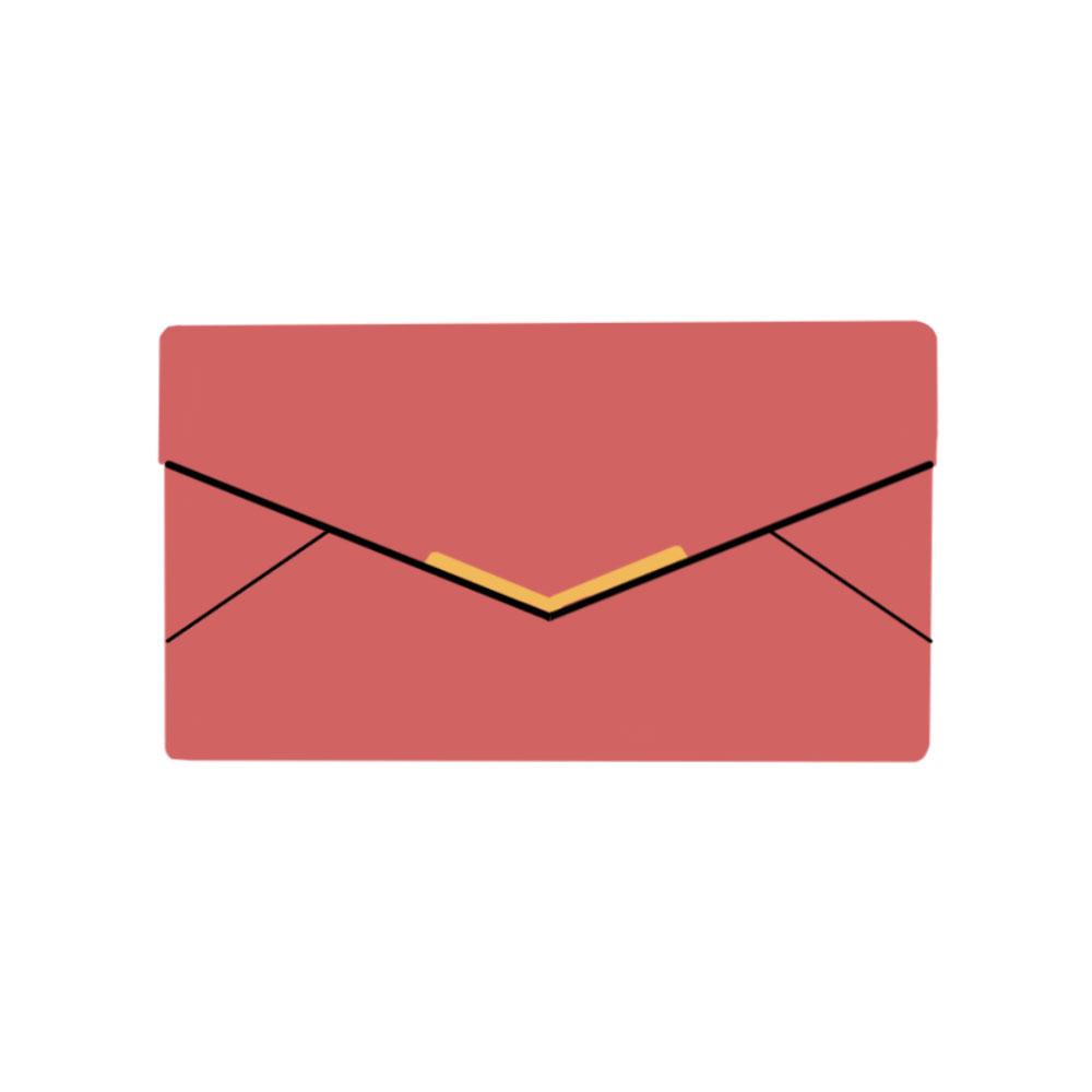 Envelope Clutch Bag Accessories - the concept wardrobe