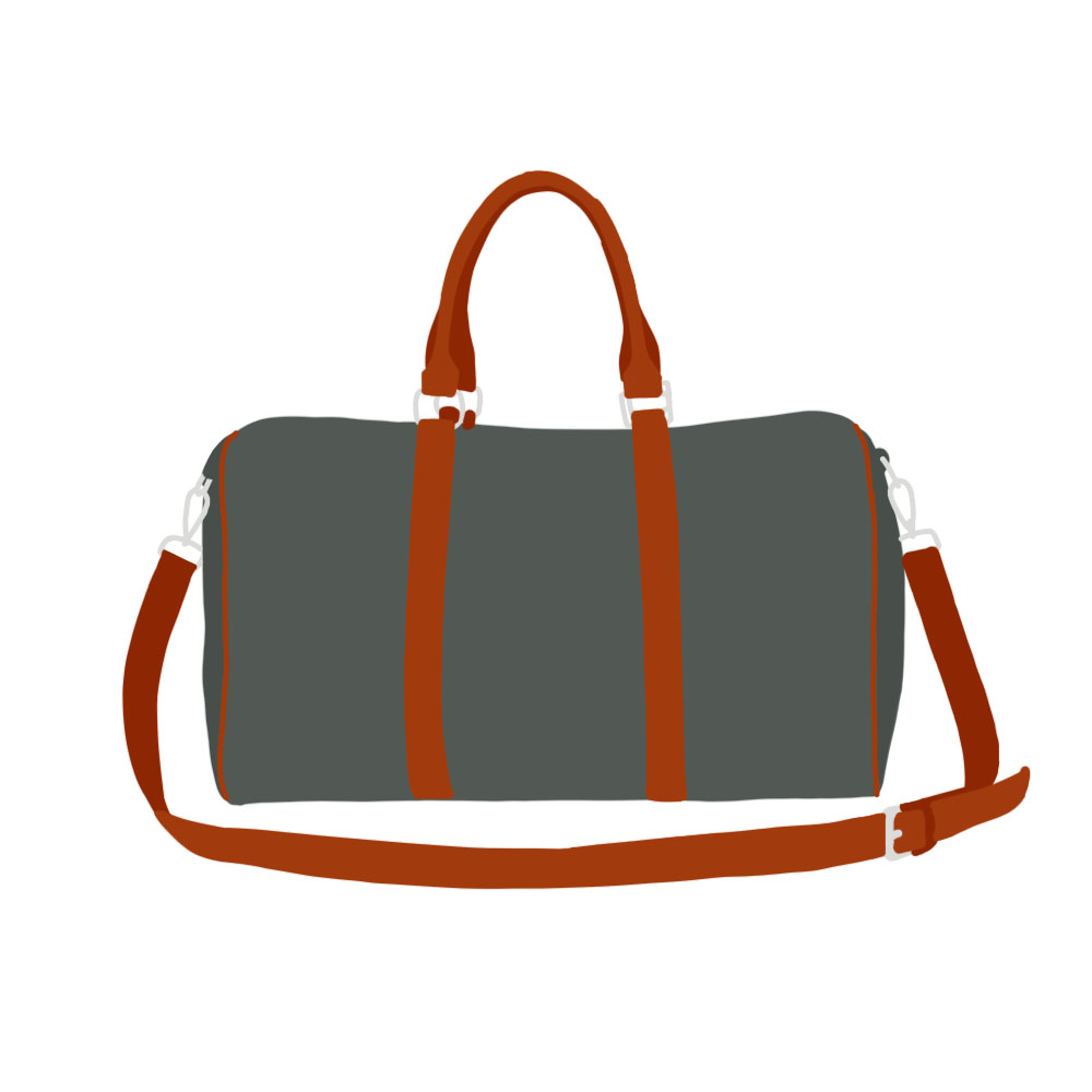 Weekend Bag Accessories - the concept wardrobe