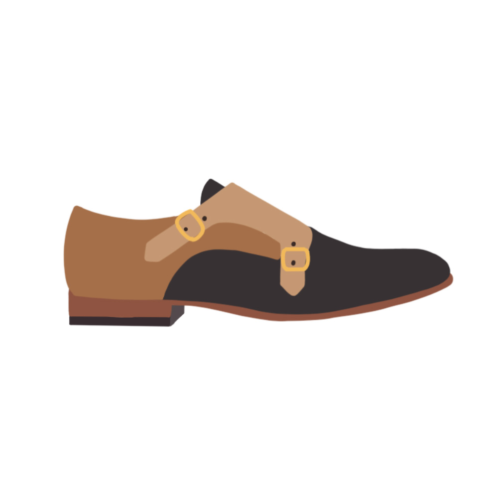 Monks Shoes Flats - the concept wardrobe