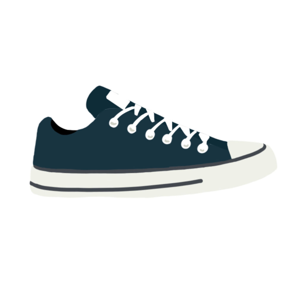 Canvas Shoes Flats - the concept wardrobe