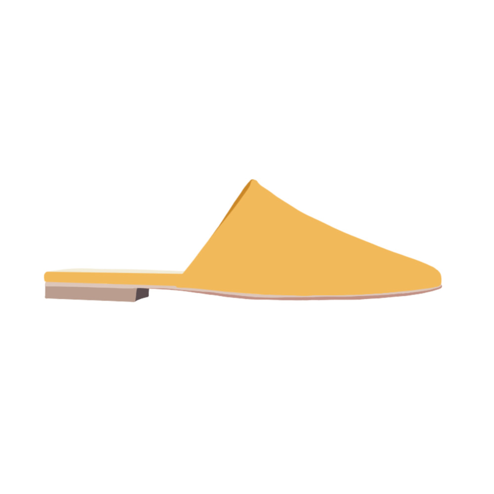 Flat Mules Shoes - the concept wardrobe