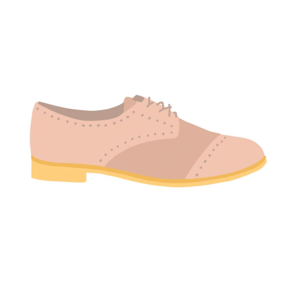 Brogues Flats Shoes - the concept wardrobe