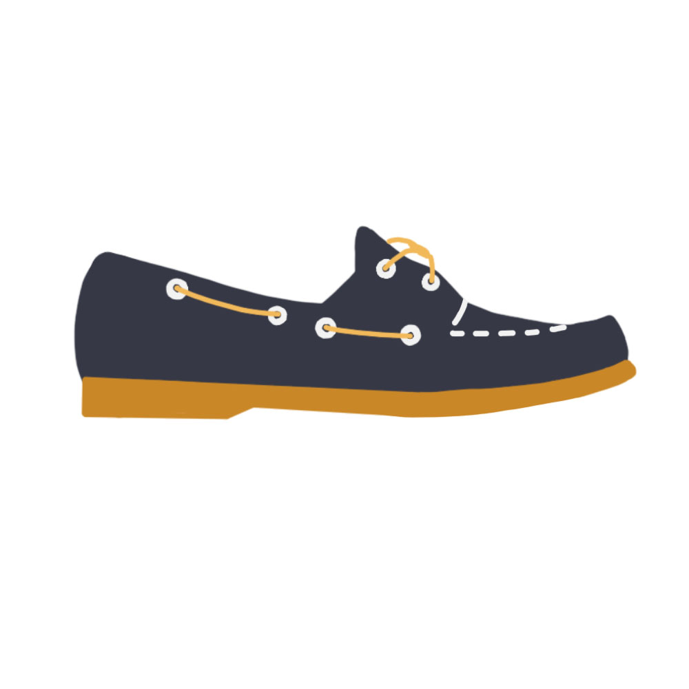 Boat Shoes / Docksides Flats Shoes - the concept wardrobe