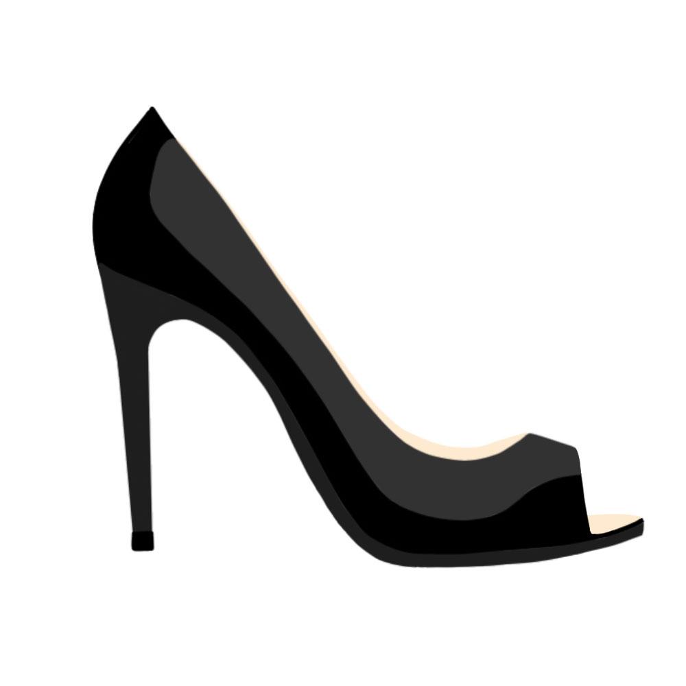 Open Toes Heels - the concept wardrobe