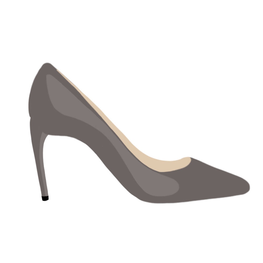 Horn Heels Shoes - the concept wardrobe
