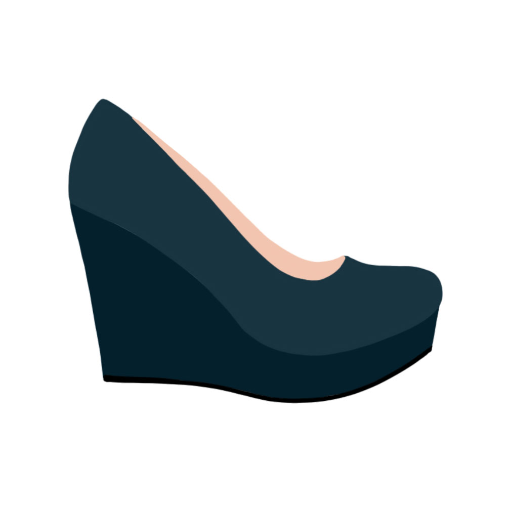 Wedges Shoes - the concept wardrobe