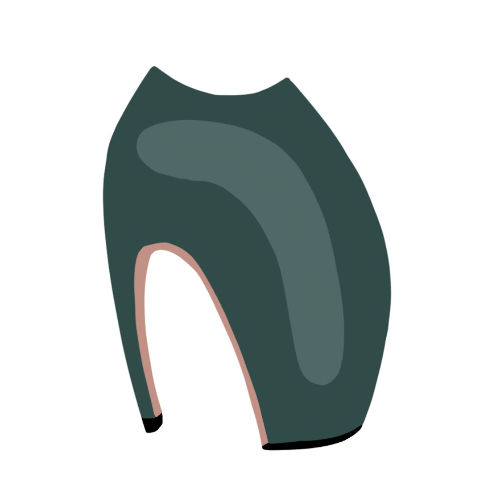 Lobster Claw Heels Shoes - the concept wardrobe