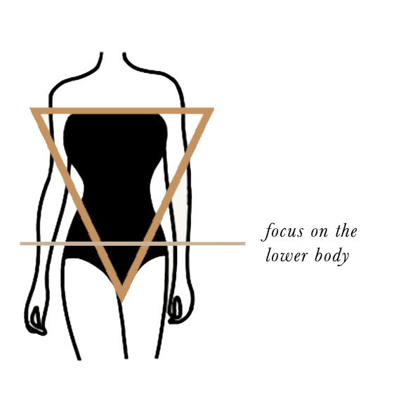 Styling the Inverted Triangle Body Shape