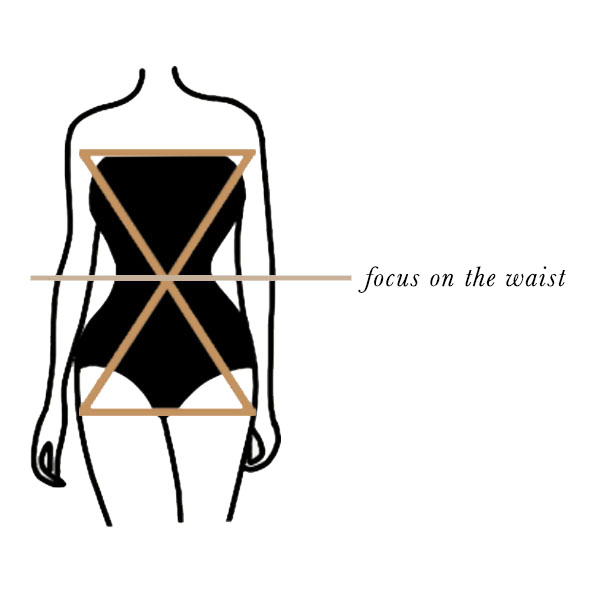 How to dress an hourglass silhouette
