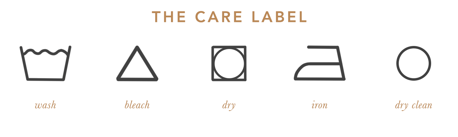 Laundry - The Care Label - the concept wardrobe