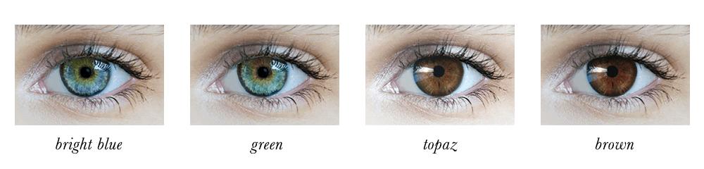 Bright Spring Eye Colours