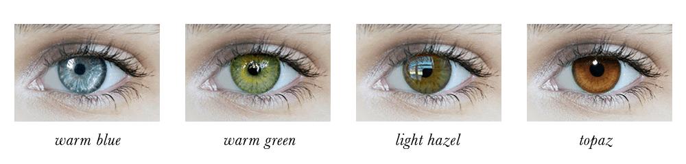 True Spring Eye Colours