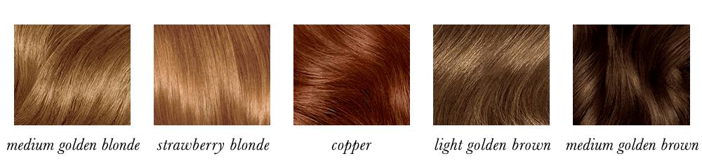True Spring Hair Colours
