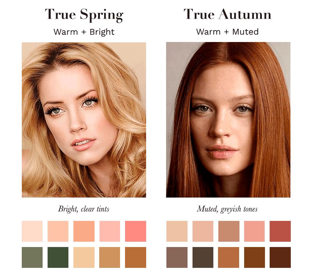 True Spring vs True Autumn