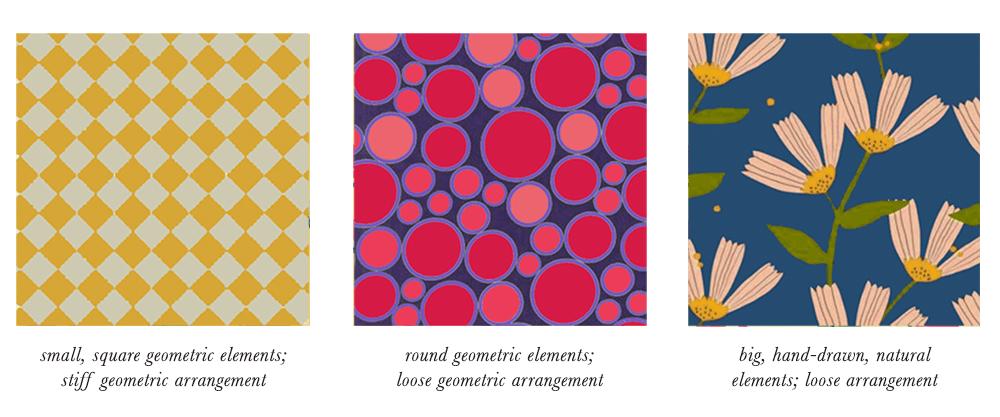 True Spring Patterns & Prints Elements