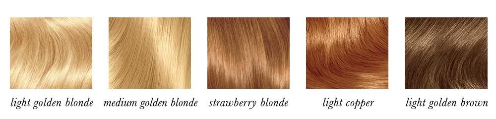 Light Spring Hair Colours